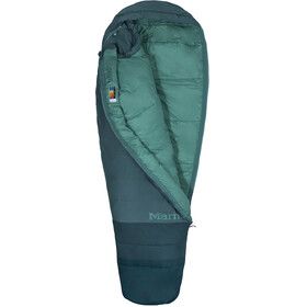 Marmot Trestles 15 TL Sleeping Bag Women Regular Dark Agave/Sea Moss